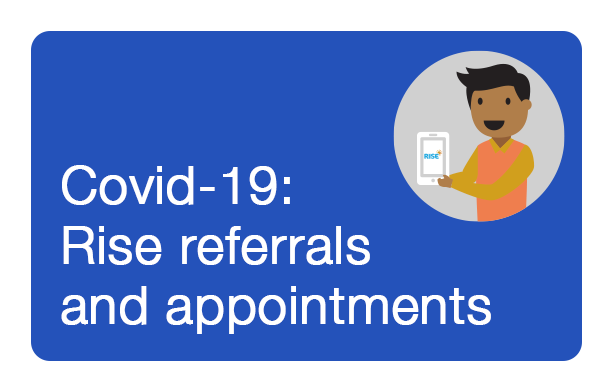 Covid-19 Rise referrals and appointments
